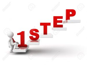 30549298-3d-man-stepping-up-for-success-first-step-abstract-concept-over-white-background-stock-photo